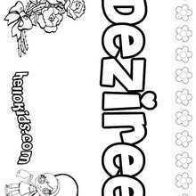 amor, Deziree