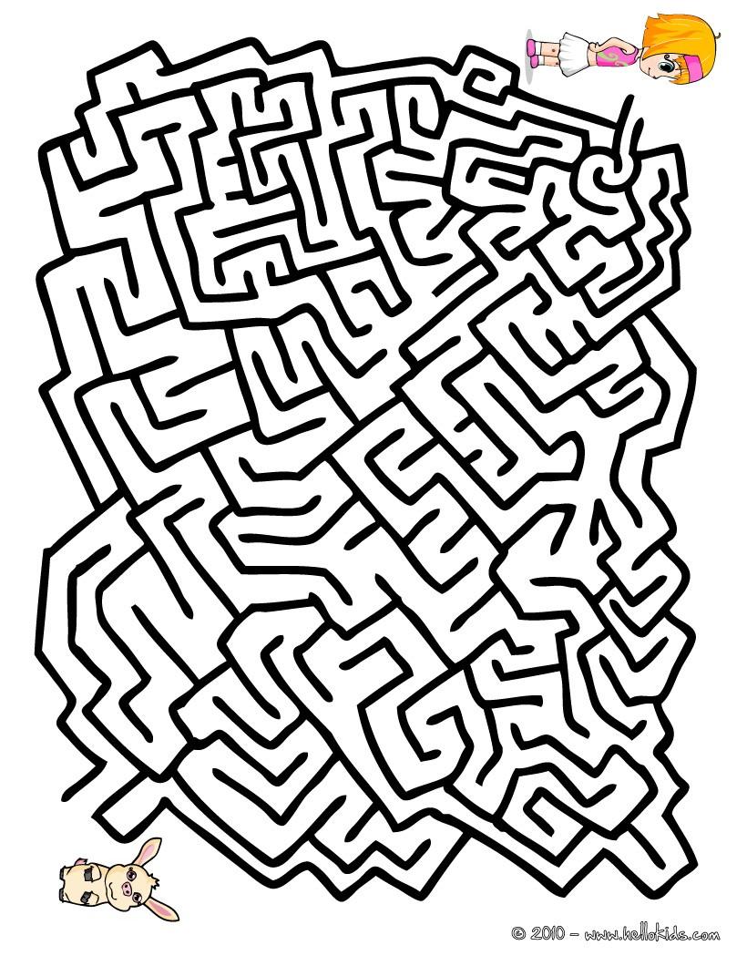 jogos gratuitos de labirinto fácil para imprimir encontrar meu