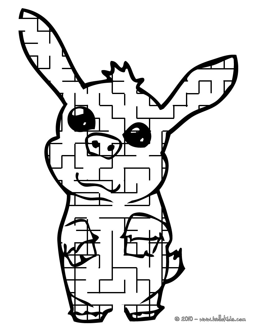 Labirinto divertido para imprimir : ANIMAL DE ESTIMAÇÃO