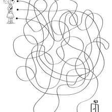 Labirinto para imprimir : ENCONTRE A SAIDA