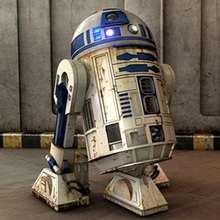 Quebra-cabeça para crianças do R2-D2