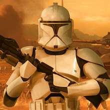 Quebra-cabeça do Clone Trooper (difícil)