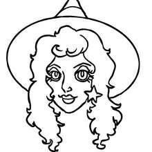 Desenhos Para Colorir De Feliz Dia Das Bruxas Com Uma Piscadela Da