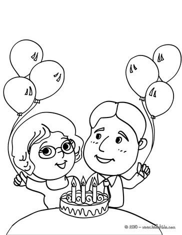 Imagem De Aniversario Para Colorir. aniversário do botas colorir org ...