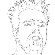 Desenho do Sheamus para colorir