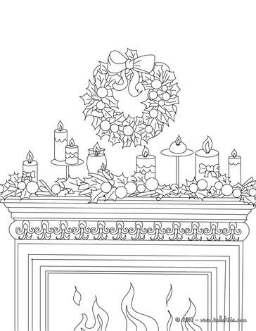 Paginas Para Colorir Sobre O Natal Desenhos Para Colorir