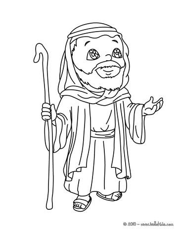 Desenhos Para Colorir De Desenho Da Maria Do Jose E Do Jesus No