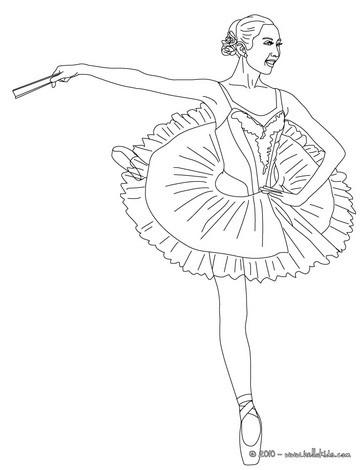 Páginas Para Colorir Dança Desenhos Para Colorir Imprima