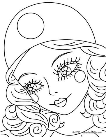 Desenho Da Colombina Para Colorir P Ginas Para Colorir Personagens