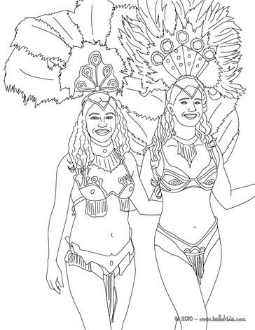 Páginas Para Colorir Carnaval Desenhos Para Colorir Imprima