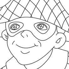 Desenho do HARLEQUIM para colorir online