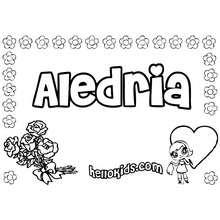 mamãe, Aledria