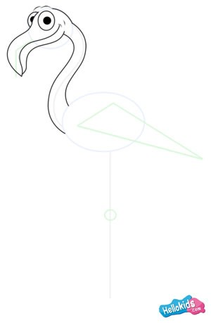 Como desenhar um FLAMINGO