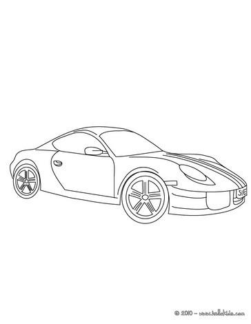 Desenhos Para Colorir De Desenho De Uma Ferrari 360 Spider Para