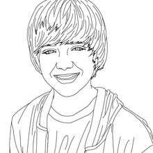 Desenho para colorir do Greyson Chance