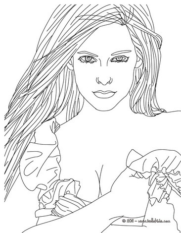 Kleurplaat Justjn Bieber Desenhos Para Colorir De Desenho Da Linda Avril Lavigne