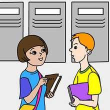 Quebra-cabeça deslizante de alunos do colégio