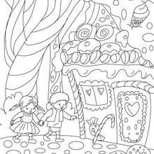 Joãozinho e Maria, O conto João e Maria para colorir
