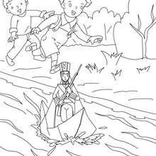 Desenho do Soldadinho de Chumbo para colorir