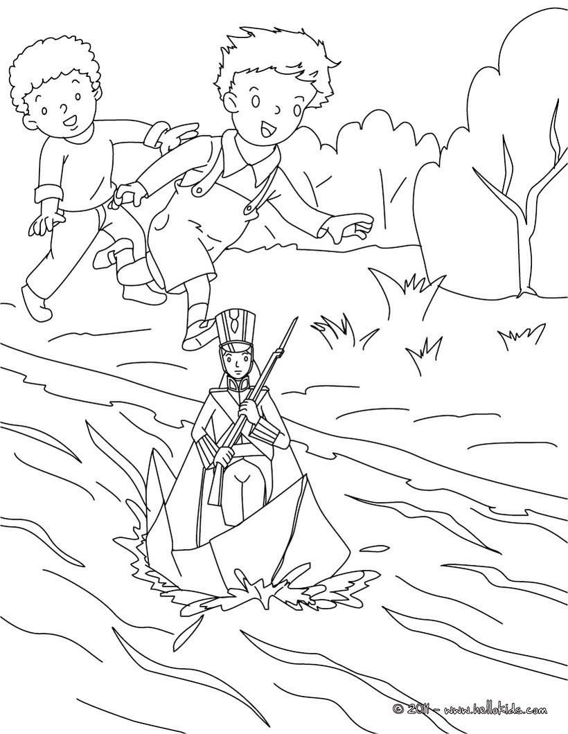 Desenhos Para Colorir De Desenho Do Soldadinho De Chumbo Para