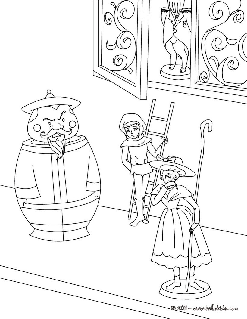 h c andersen coloring pages - photo#11