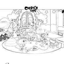 O quarto da Chloe