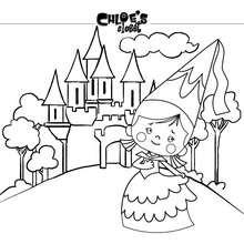 Princesa Chloe e o seu castelo