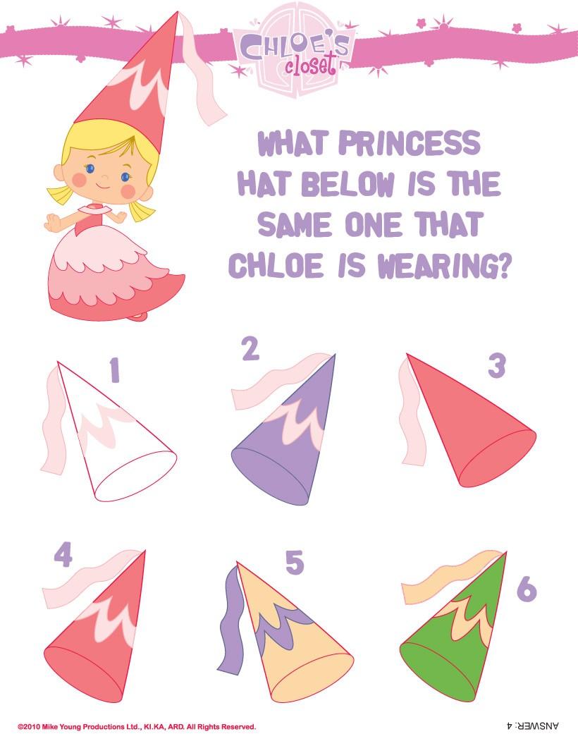 Encontre o chapél da Chloe