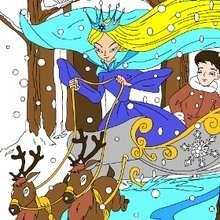 Quebra-cabeça da Rainha da Neve