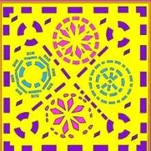 Quebra-cabeça deslizante de um desenho do DIA DAS BRUXAS