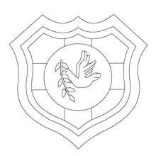 Desenho do time de Rugby da Tonga para colorir