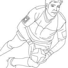 Desenho do DIMITRI YASHVILI para colorir