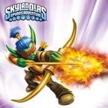 Quebra cabeça deslizante do herói FLAME SLINGER de Skylanders