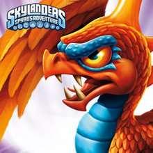 Quebra cabeça online do personagem de Skylanders SUNBURN