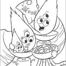 Kirby Alien e sua família