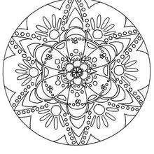 Colorindo lindo Mandala GRATIS