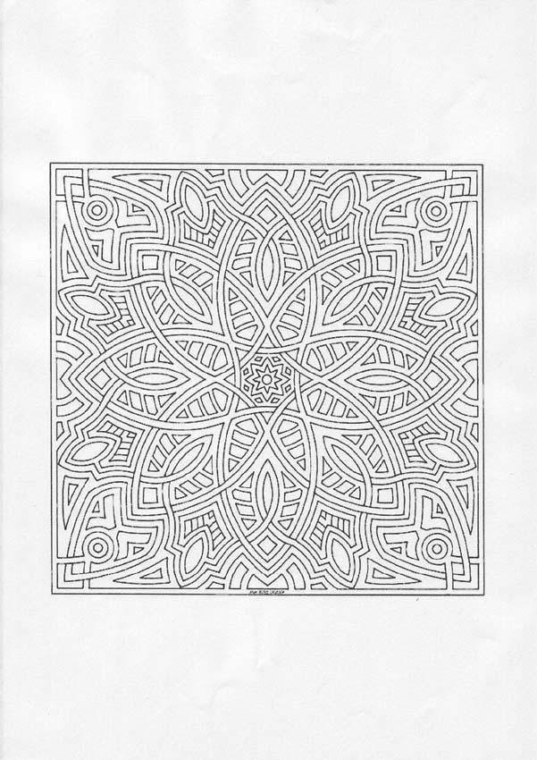 Desenhos Para Colorir De Mandala Dif 237 Cil Para Colorir Pt
