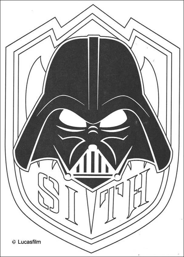 Desenhos Para Colorir De Mascara Do Darth Vader Pt Hellokids Com