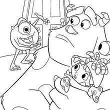 Sulley, Boo e Mike