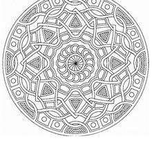Colorindo Mandala com ondas