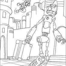 Desenho do Rodney em Robópolis para colorir