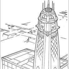 A torre dos Jedi