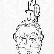 Mandala de uma máscara