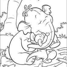 Guru abraçando o Bolota