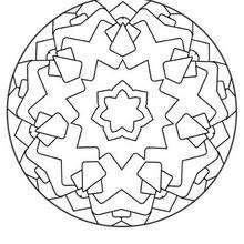 Mandalas GRATIS para colorir