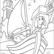 Cachorrinho no barco