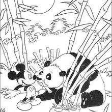 Mickey e o panda