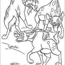 Três hienas