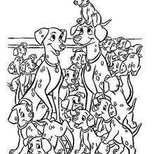 A família dos Dálmatas