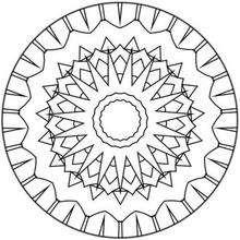 Mandala espinhoso